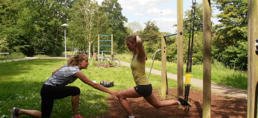 Athletic personal training Utrecht trx training